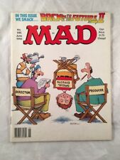 Mad Magazine # 295 June 1990 Back to the Future Alfred E Neuman Front Cover