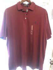 Polo Ralph Lauren Short Sleeve Polo Wine Red XXL