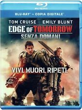 Blu Ray • Edge of Tomorrow Senza Domani TOM CRUISE EMILY BLUNT ITALIANO