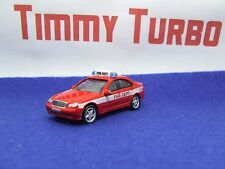 MERCEDES BENZ C CLASS IN RED FIRE DEPT JOY CITY 65 MM LONG