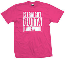 Straight Outta Lakewood T-Shirt - High School Lancers Parody - All Size & Colors