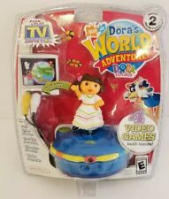 BNIP New Dora's World Adventure Plug Play Electronic Game Jakks Pacific Explorer