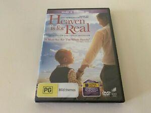 Heaven Is For Real (Australia Region 4) DVD – New
