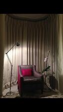 Romo Linara 2494 Curtains,long 6 Widths Interlined,Made To Measure, Goblet Pleat
