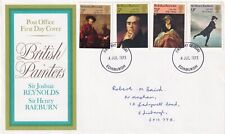 GB - 1973 - British Paintings - British Painters - First Day Cover 013