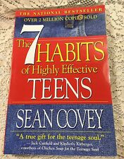The 7 Habits of Highly Effective Teens Sean Covey Bestseller Teenager Success