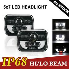 """Pair 5X7"""" 7x6""""in LED Rectangle Headlight for Ford F250 F350 F450 F550 Super Duty"""