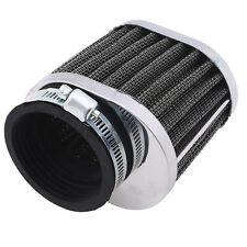 50mm Intake Air Cleaner Filter Universal Fit Motorcycle Scooter Dirt Bike ATV
