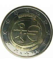 2 Euro Commémorative Pays-Bas 2009 - 10 Ans de l'Euro EMU - UNC