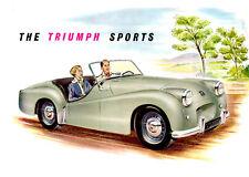 1952 Triumph Sports TR-2, Refrigerator Magnet, 40 MIL Thick