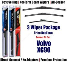 3-Pack Wipers Front & Rear NeoForm - fit 2007-2011 Volvo XC90 - 162413/2213/15G