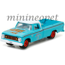 GREENLIGHT 35060 A 1967 DODGE D200 PICK UP TRUCK GRUMP'S GARAGE 1/64 TURQUOISE