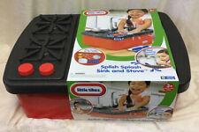 Splish Splash Sink Little Tikes Stove Play Set Water Kids Kitchen Toy