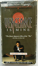 Vengeance Is Mine (VHS) Rare acclaimed, controversial 1979 fact-based horror