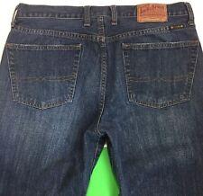 Lucky Brand Mens Jeans 36x30 Gene Montesano Vintage Straight Zipper Fly 7MC1004