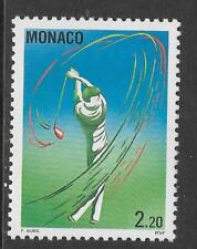 MONACO 1993 MONTE CARLO OPEN GOLF 1v MINT NEVER HINGED