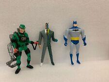 Action Figures lot Kenner Riddler Batman & Two Face Batman Animated Series