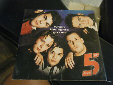 When the Lights Go Out [Single] by 5ive (CD, Arista)1998
