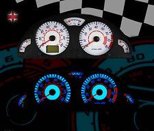 CITROEN SAXO MK2-VTS VTR Interni Speedo DASH CLOCK ILLUMINAZIONE QUADRANTE UPGRADE KIT