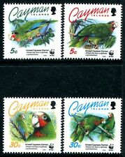 Cayman Islands 668-671, MNH, Birds Grand Cayman Parrots 1993 WWF. x11084