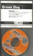 GREEN DAY Waiting ULTRA RARE 2000 PROMO Radio DJ CD Single MINT procd100593