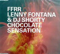 Lenny Fontana & DJ Shorty ‎Maxi CD Chocolate Sensation - Europe (M/M)