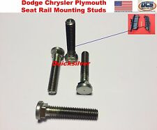 65 - 78 Charger Road Runner Super Bee Front Seat Rail Mounting Stud Bolts USA