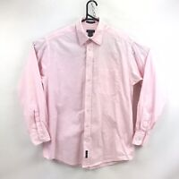 GANT Mens Shirt Long Sleeve Size M Medium Light Pink 100% Cotton EUC