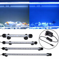Aquarium Fish Tank LED Light Submersible Waterproof Bar Clip Strip Lamp 18-48cm