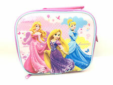 OFFICIAL DISNEY PRINCESS MOMENTS GIRLS NURSERY SCHOOL LUNCH INSULATED BAG NEW