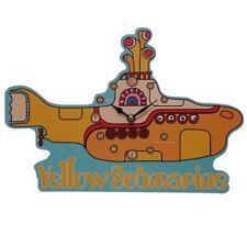Beatles Bilderuhr Yellow Submarine U-Boot Form Musik 60ies Uhr Wanduhr Musiker