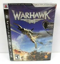 Warhawk (Sony PlayStation 3, 2007) PS3 Video Game + Bluetooth Headset SEALED*