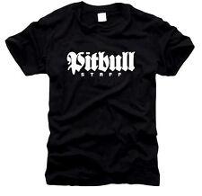 Pit bull Stafford-caballeros-t-shirt, talla s hasta XXXXL