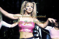 Busty BRITNEY SPEARS Pigtails and Pink Halter ** HI-RES ARCHIVAL Photo (8.5x11)