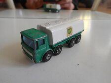 "Matchbox Superfast Ergomatic Cab Petrol tanker ""BP"" in Green/White"