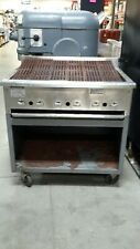 Used Rankin-Delux RB-836 Natural Gas Floor Model Charbroiler