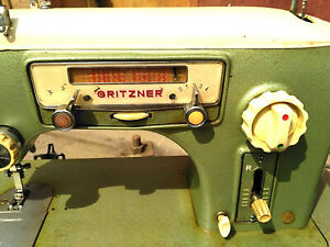 "Sewing Machine ""GRITZNER""  Vintage"