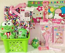New Hello Kitty Easter Toy Gift Basket Birthday Purse Toys Play Set Art Book