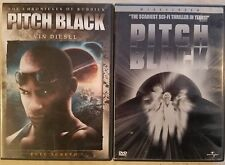 Pitch Black The Chronicles of Riddick (Dvd Rated) Vin Diesel ~ Combine Shipping!