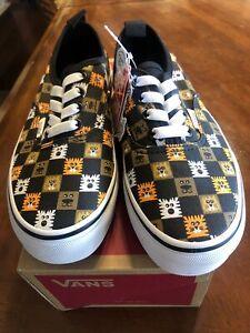 Vans animal slip on shoes sneakers sz 3 NEW!