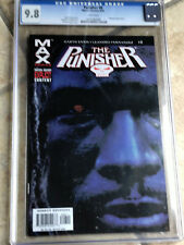 THE PUNISHER MAX #8 cgc 9.8 2004 Series - MAGINTY Appearance - BRADSTREET Cover