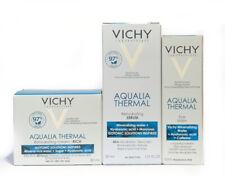Vichy Aqualia Thermal Rehydrating Cream Rich + Serum + Eye Balm for Dry Very Dry