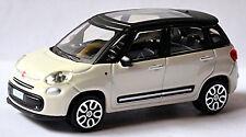 Fiat 500 L Minivan TOUS-TERRAINS 2012-17 blanc blanc 1:43
