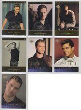 1999 Upper Deck 7 x Ricky Martin gold script parallel cards #2 11 18 20 43 51 60