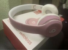 Replica Beats Solo 3 Wireless Headphone Pink Please See Description
