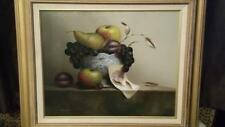 Stunning Still Life Oil On Canvas By Renowned Cornish Artist Mike Woods