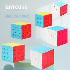Magic Cube Rubix Rubik Puzzle Super Smooth Fast Speed Cube No Sticker Kid Toys