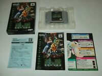 Sin and Punishment Tsumi to Batsu Boxed A Nintendo 64 N64 NTSC-J Japan import