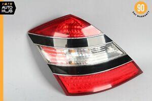 07-09 Mercedes W221 S550 S600 S63 AMG Left Driver Tail Light Lamp Black OEM