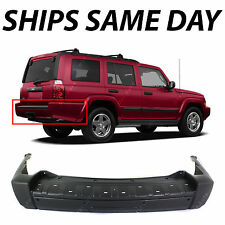 New Primered - Rear Bumper Cover for 2006-2008 Jeep Commander SUV w/out Tow